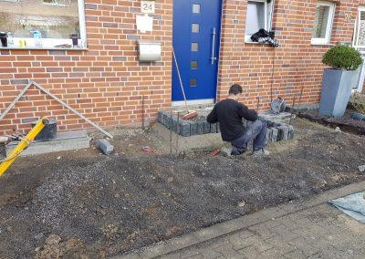 Vorgartenanlage in Viersen -2